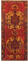 Ecarpetgallery Classic Persian Red/Cream/Gold/Orange Wool and Cotton Runner Rug (4'3 x 12'10)