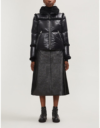 Mackage Miya cropped quilted shell-down jacket