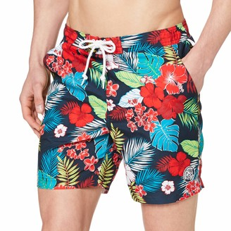 Original Penguin Men's Floral Volley Shorts