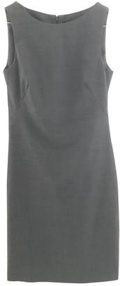 Theory Grey Wool Dresses
