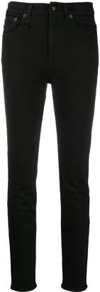 R 13 High-Waisted Skinny Jeans
