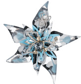Alexis Bittar Crystal Encrusted Abstract Flower Pin