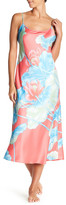 Natori Lian Floral Charmeuse Nightgown