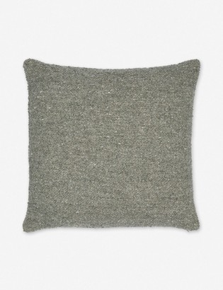 Lulu & Georgia Manon Linen Boucle Pillow, Moss