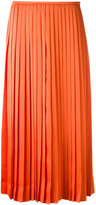 Fendi pleated midi skirt - women - Acetate/Viscose - 40
