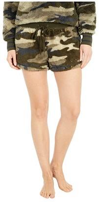 PJ Salvage Cozy Shorts (Camo) Women's Pajama