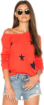 Sundry Stars Crop Pullover