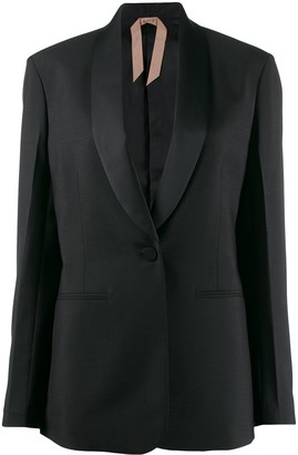No.21 shawl collar blazer