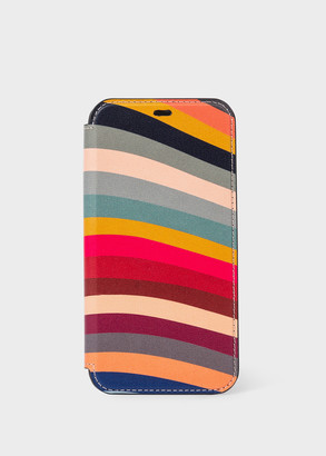 'Swirl' Leather iPhone 11 Pro Wallet Case
