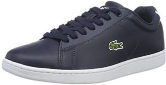 Lacoste Women's Carnaby Evo Bl 1 SPW Trainers, Blue (NVY 003)