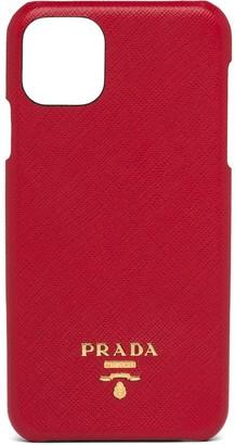 Prada logo plaque iPhone 11 Pro Max case
