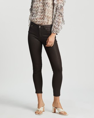 Mng Women's Brown Skinny - Isa Jeans - Size 36 at The Iconic