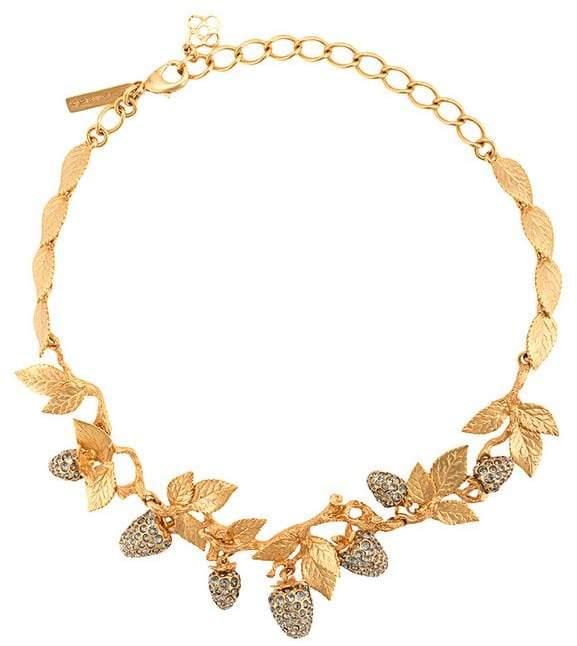 Oscar de la Renta Berry necklace