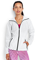 Lands' End Women's Speed Running Jacket-White