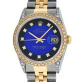Rolex Datejust 36mm Blue gold and steel Watches