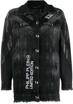 Philipp Plein Scarface denim jacket