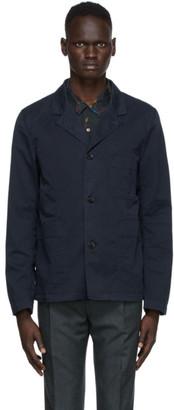 Paul Smith Navy Convertible Collar Jacket