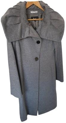 Harrods Grey Wool Coats