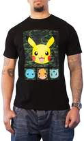 Pokemon T Shirt Pikachu And Friends new Official Mens Camo