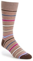 Lorenzo Uomo Men's Seven Stripe Socks