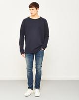 Nudie Jeans Diego Sweatshirt Navy