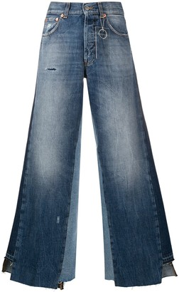 DEPARTMENT 5 Panelled Wide-Leg Jeans