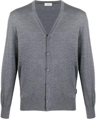 Ermenegildo Zegna Fine Knit V-Neck Cardigan