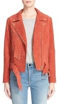 Veda Women's 'Jayne' Suede Moto Jacket