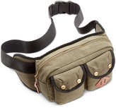 Steve Madden Men's Canvas Fanny Pack