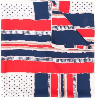 Balmain Pre-Owned Mix Pattern Scarf