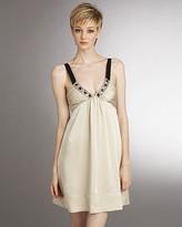 Women's Satin Halter Dress