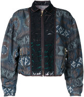 Kolor allover print bomber jacket - women - Polyester - 2