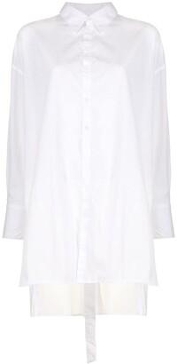 Yohji Yamamoto Buttoned-Back Shirt