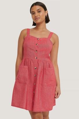 Trendyol Carmen Buttoned Midi Dress
