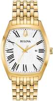 Bulova 97M116 Ambassador Women's Watch Gold 32x38mm Stainless Steel