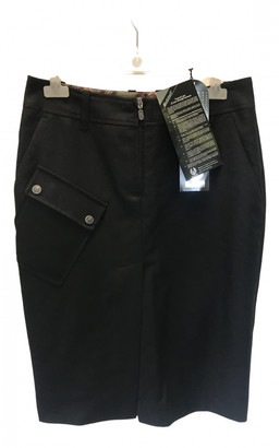 Belstaff Black Wool Skirt for Women