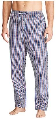 Polo Ralph Lauren Woven PJ Pants (Concord Plaid/Cruise Navy Pony Print) Men's Pajama