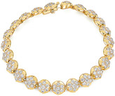 Carbon & Hyde Crown Tennis Bracelet in Gold | FWRD