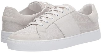 Etro Paisley/Suede Tennis Sneaker (White) Men's Shoes