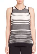 Vince Multistriped Tank