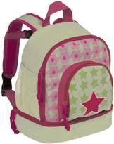 Lassig Kids Cute Backpack for Pre-School or Kindergarten with chest strap, name badge and drink bottle holder