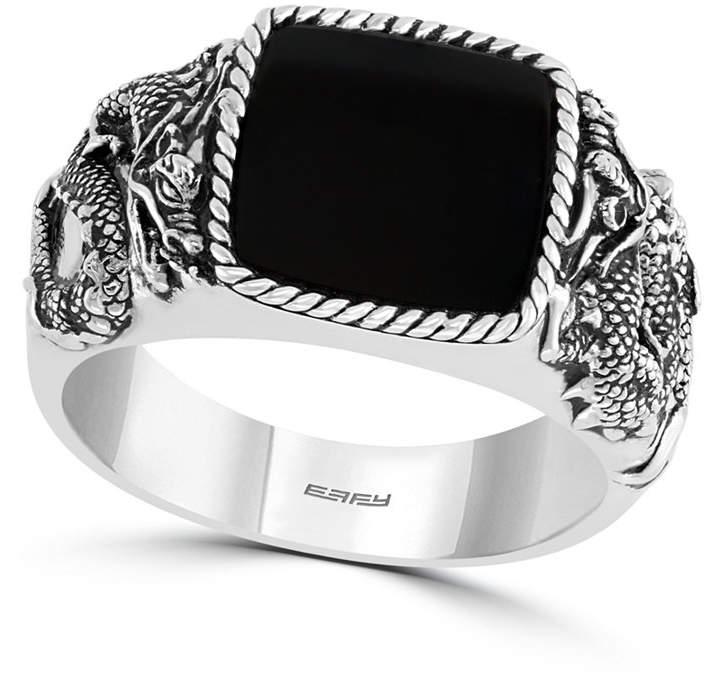 dfeff266bd3f5 Men Onyx (11mm) Ring in Sterling Silver