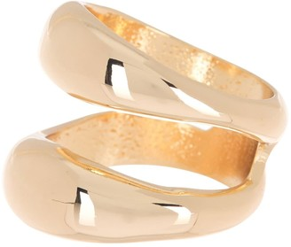 Halogen Molten Double Band Ring