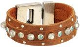 Leather Rock B519 Bracelet