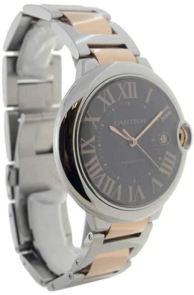 Cartier Ballon Bleu W6920032 18K Rose Gold & Stainless Steel Automatic 42mm Mens Watch