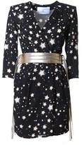 Elisabetta Franchi Women's Black Viscose Dress.