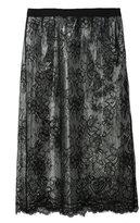 Maison Margiela sheer lace skirt - women - Polyamide/Polyurethane/Viscose - 42