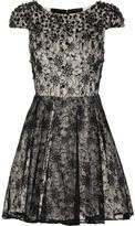 Aubree embellished lace dress