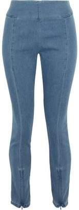 By Malene Birger Adelio Stretch-cotton Chambray Leggings