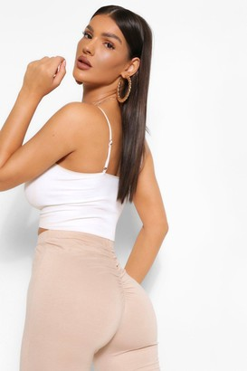 boohoo Ruched Bum Booty Boosting Jersey Legging